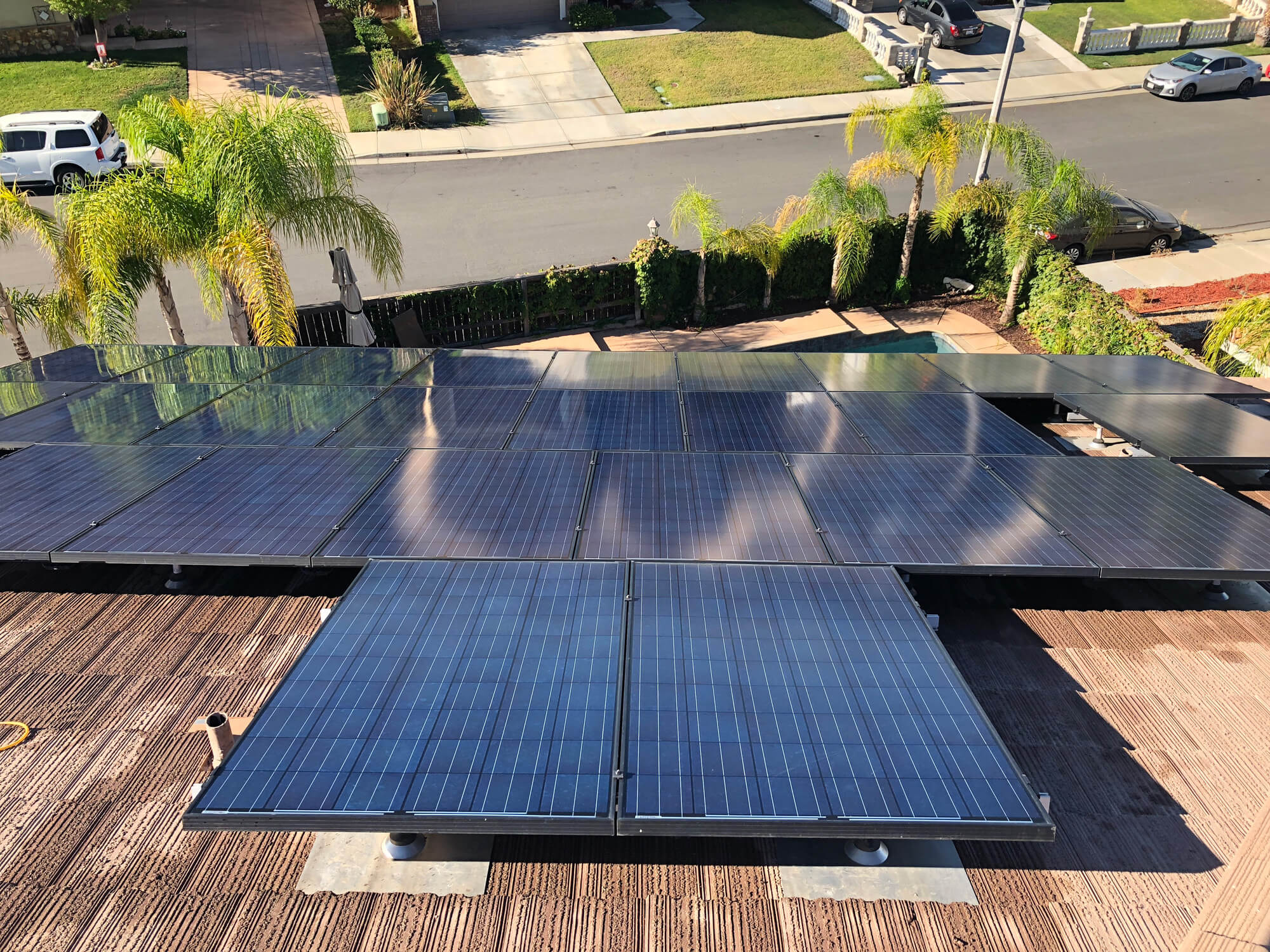 Solar Panel Cleaning Temecula - Murrieta - Clearvu Window Cleaning