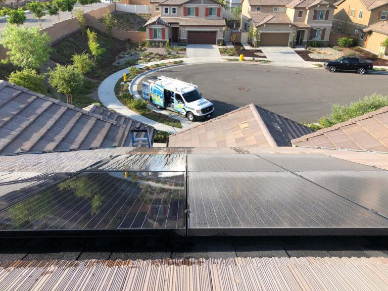 Solar Panel Cleaning Service Temecula Murrieta CA