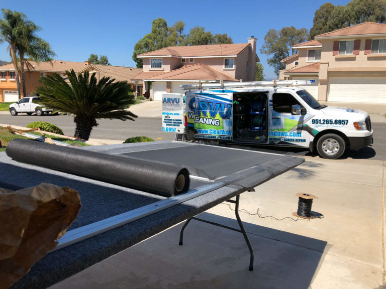 Window Screen Repair Temecula Murrieta CA