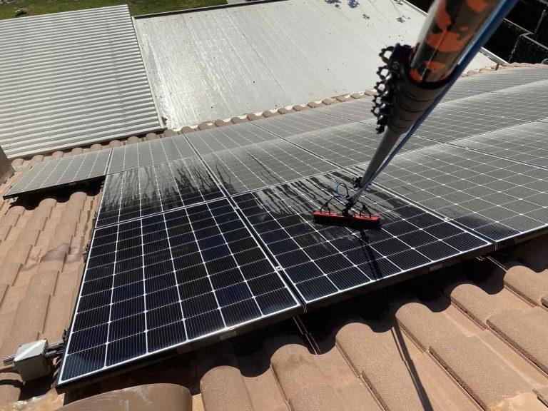 Solar Panel Cleaning Corona CA